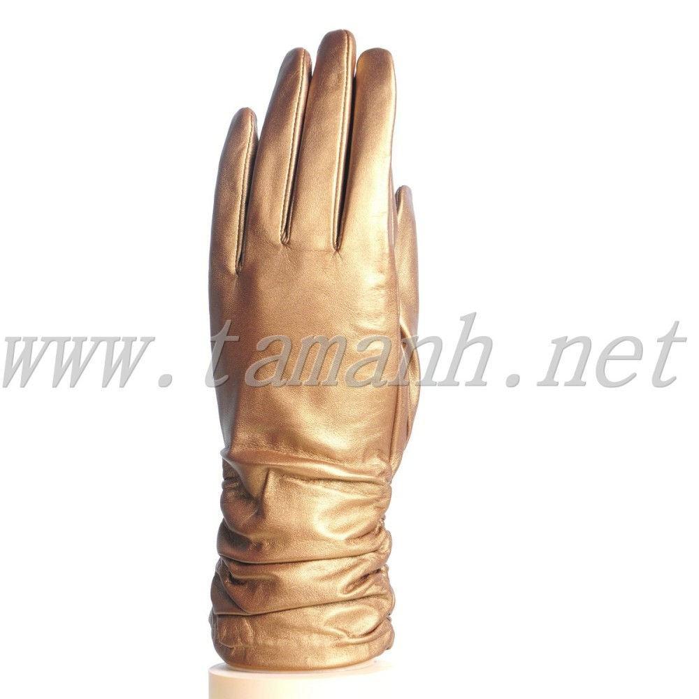 găng tay da nữ