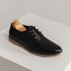 Giày tây nam buộc dây kiểu dáng Derby GNTA1901-D