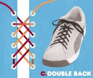 Cách buộc dây giày bằng 2 dây