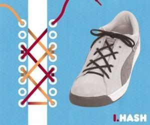Kiểu buộc giày hask