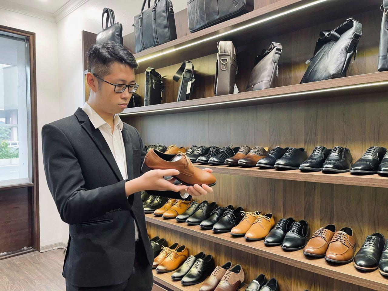 Shop bán giày tây nam