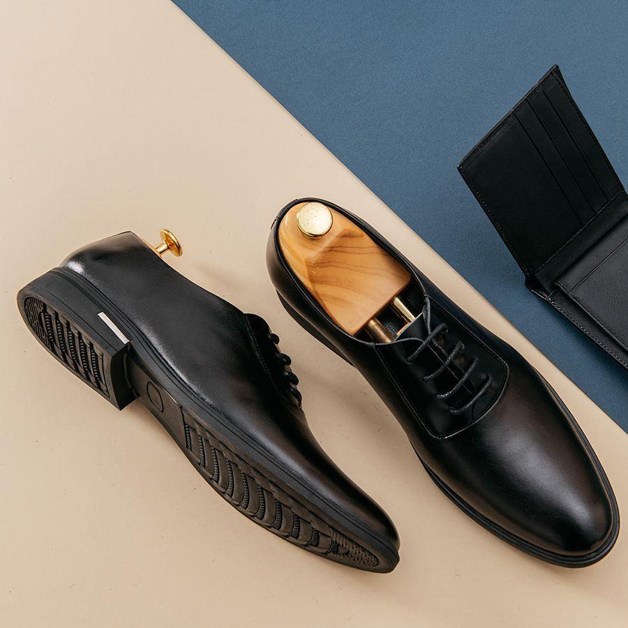 Giày tây nam buộc dây kiểu dáng Oxford GNTACS008-D