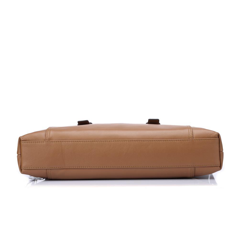 Túi nam da bò cao cấp DB215 nâu