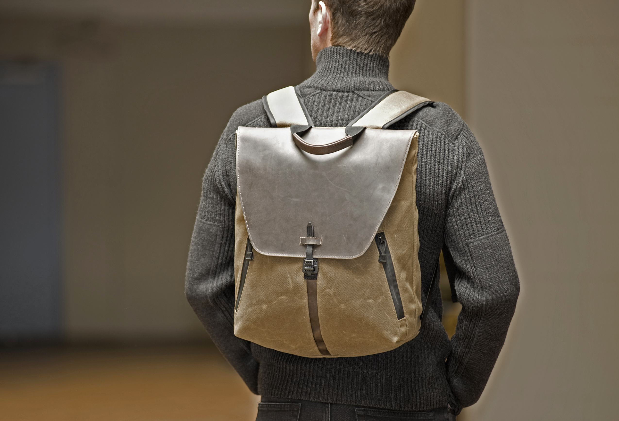 Stad BackPack - Stout - Waxed Canvas