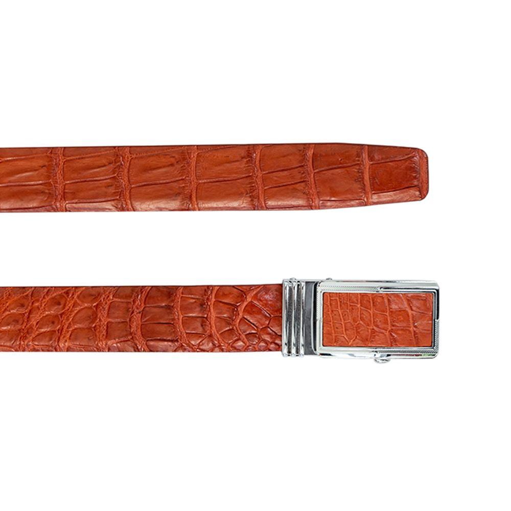 Thắt lưng da cá sấu mặt khóa lăn DTA990-02AB-H-ND