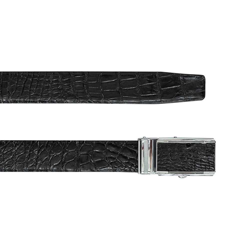 Thắt lưng nam da cá sấu mặt trượt DTA990-02B-H-D
