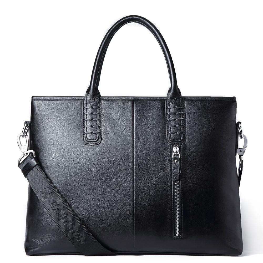 Túi xách công sở da bò cao cấp DB274 đen