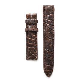 Dây đeo đồng hồ da cá sấu DDH200-CF-1