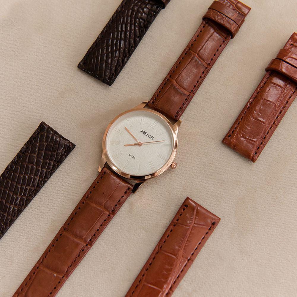 Dây đeo đồng hồ da cá sấu DDHTA-CF-MM