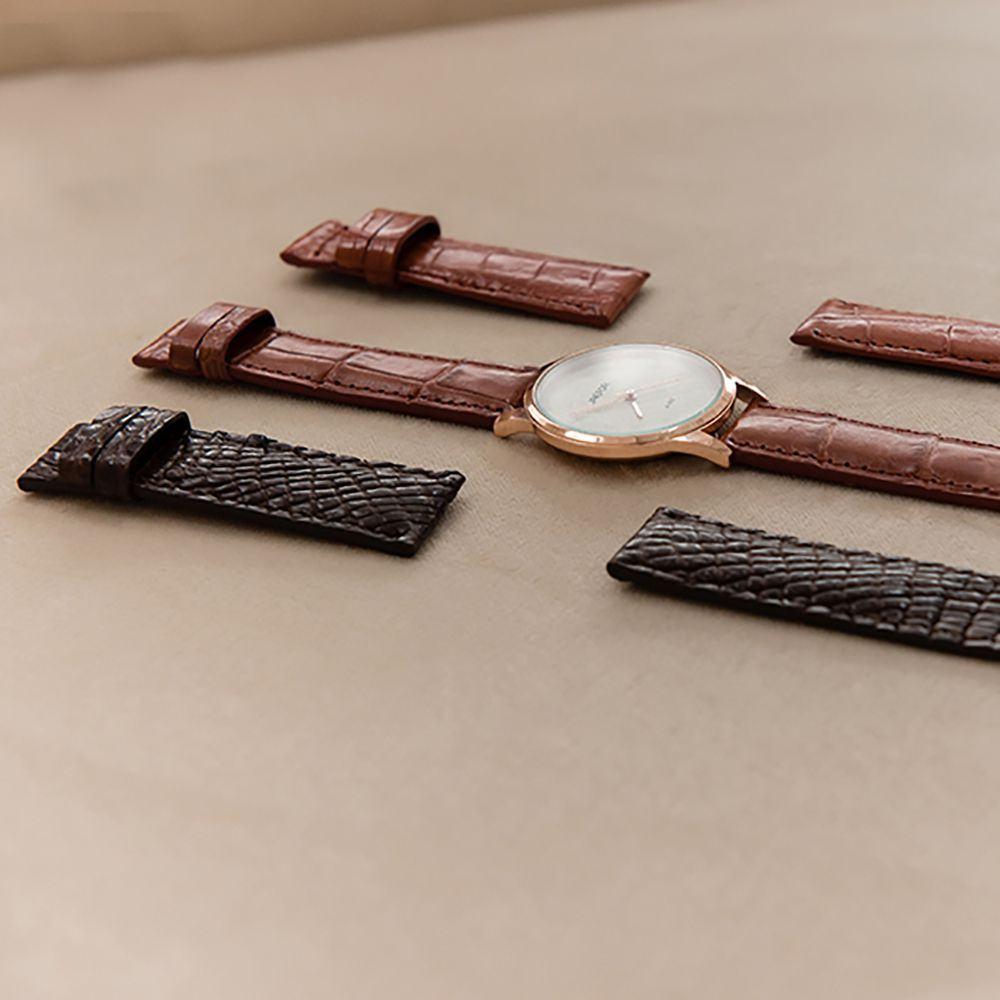 Dây đồng hồ da cá sấu DDHTA-ND-MM