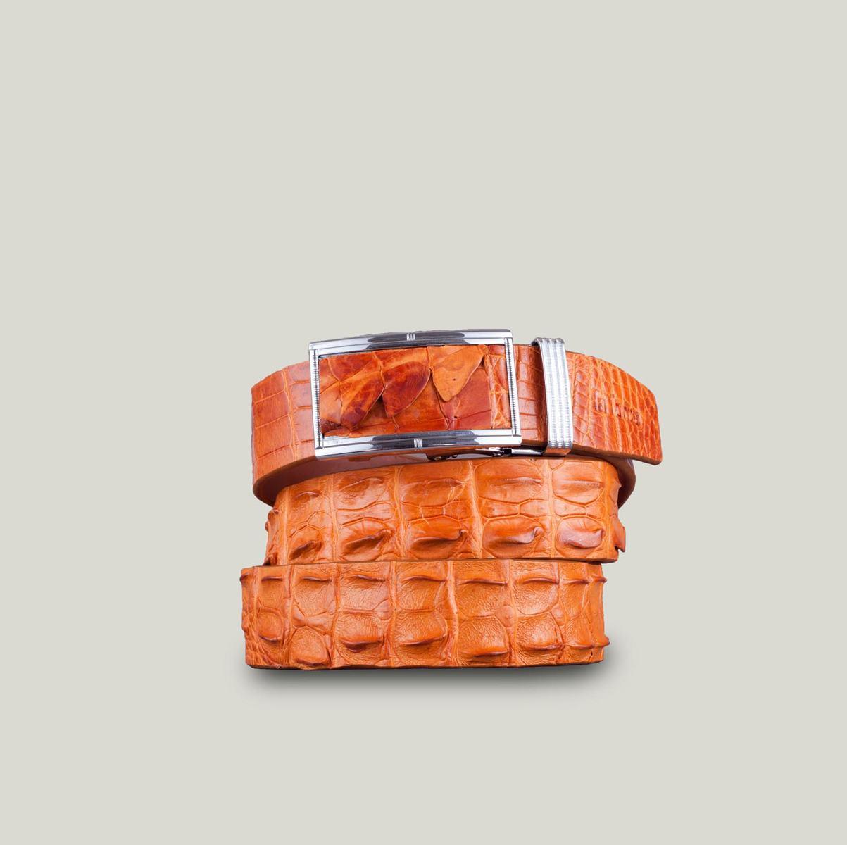Thắt lưng da cá sấu cao cấp DLA1200-NV