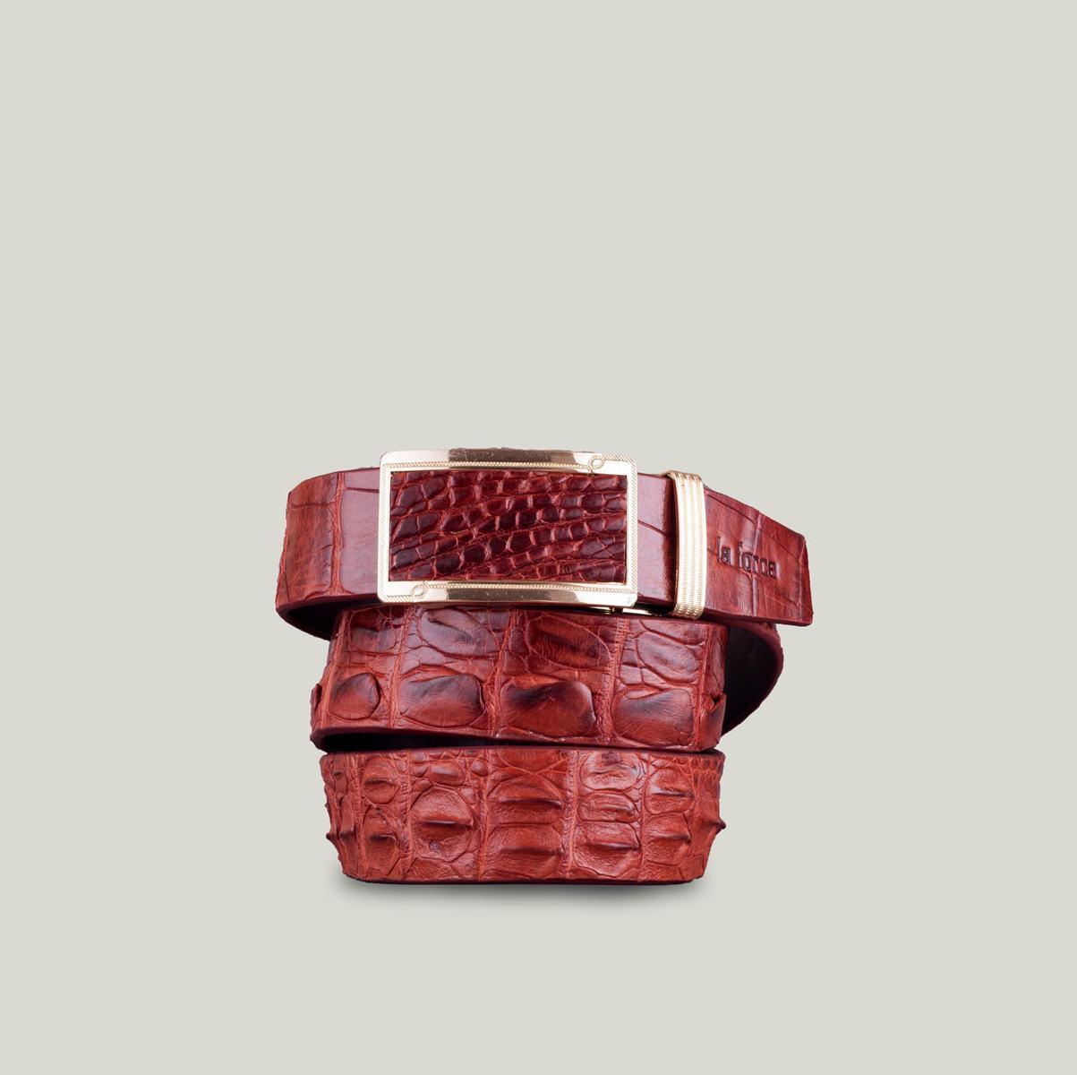 Dây thắt lưng cá sấu cao cấp DLA1500-NDO