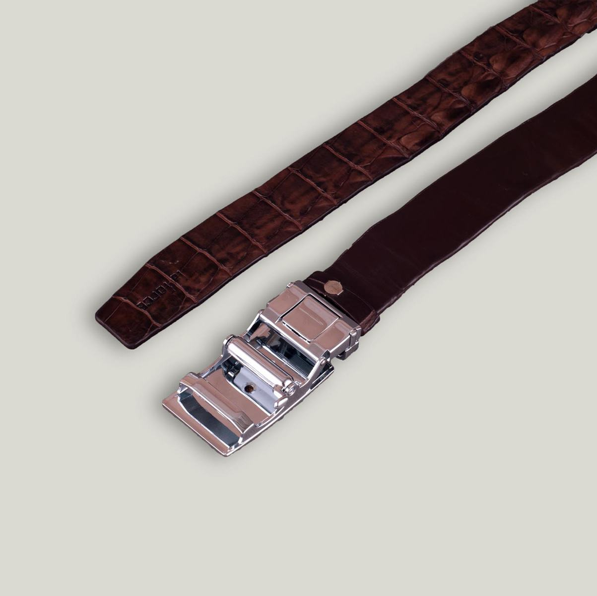 Thắt lưng da cá sấu liền DLA1500-CF