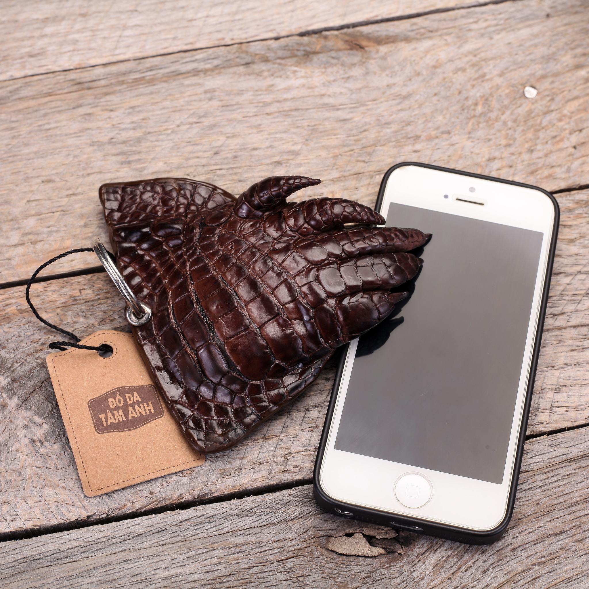 Móc khóa thời trang móng cá sấu MKMONG-NAUDAM
