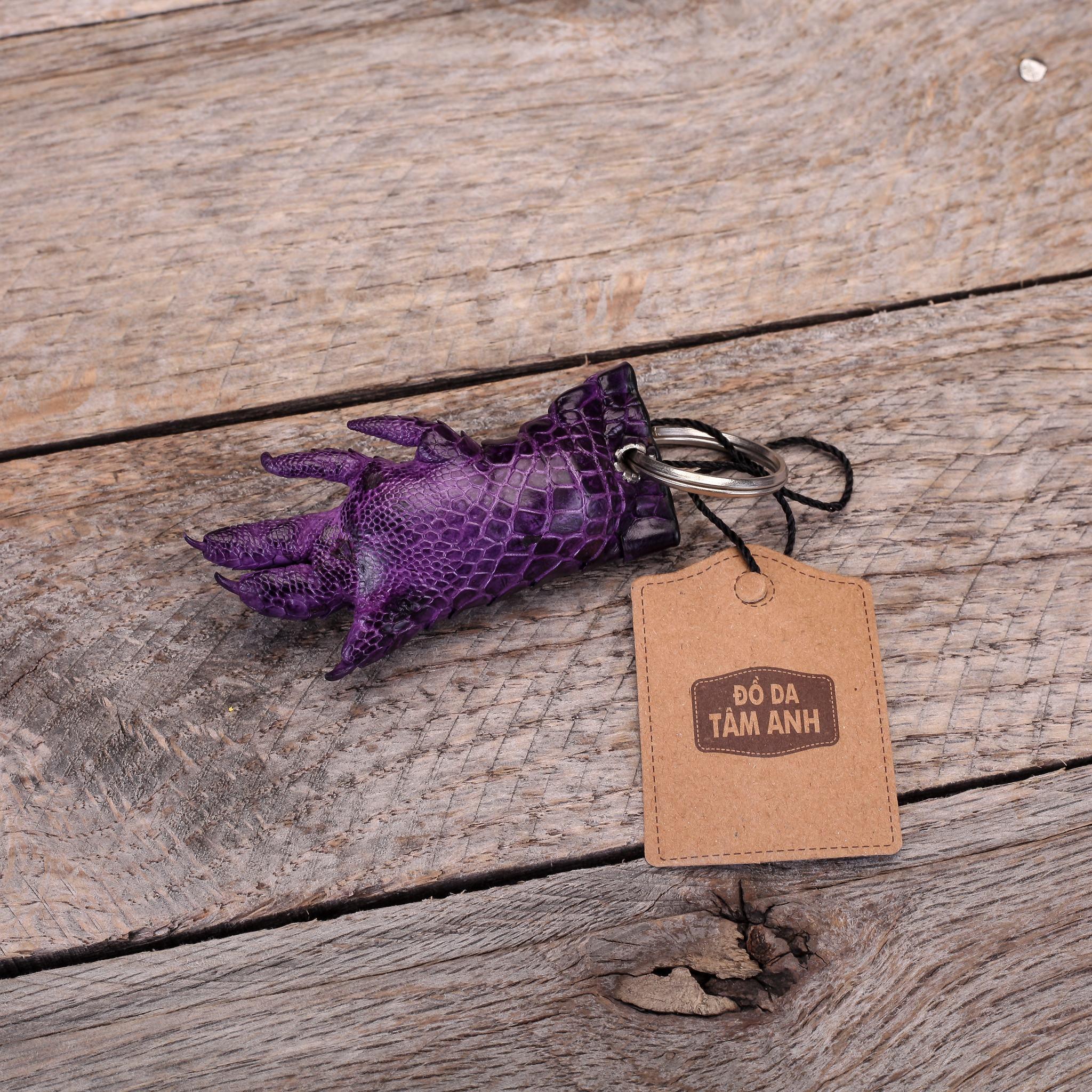 Móc chìa khóa móng cá sấu MKMONG-TIM