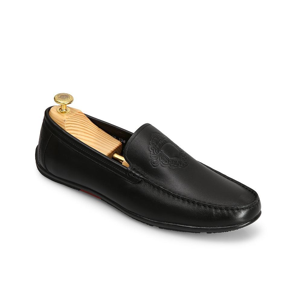 Giày lười nam công sở da bò thật GNTA338-D