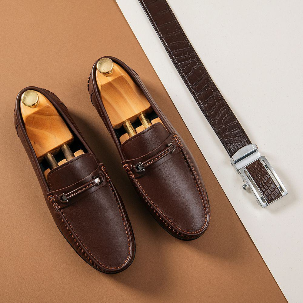Giày lười nam công sở GNTA191-N