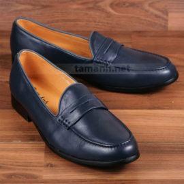 Giày lười nam quai ngang cách điệu GNTA0022-X