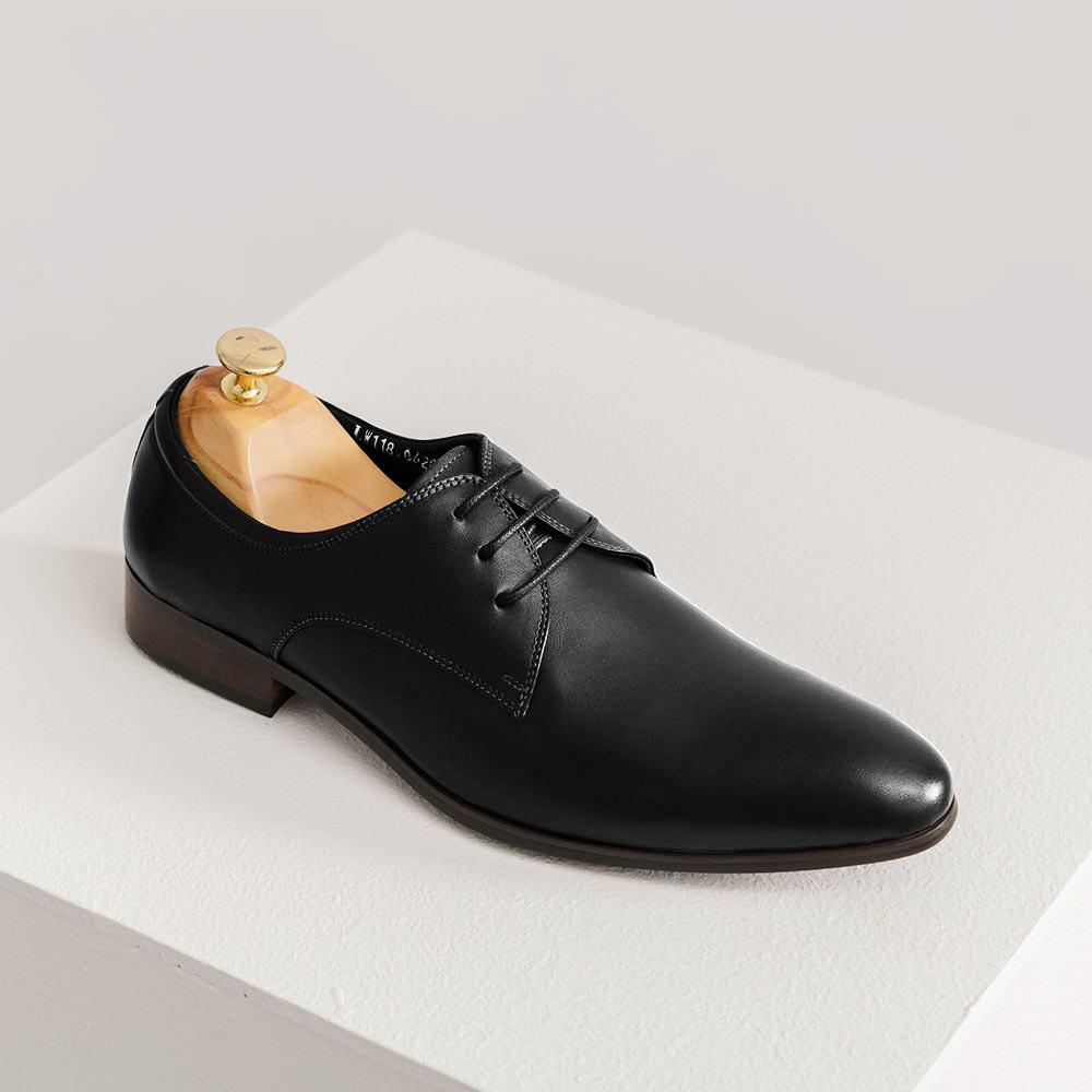 Giày công sở da bò dáng Derby GNTA8620-D