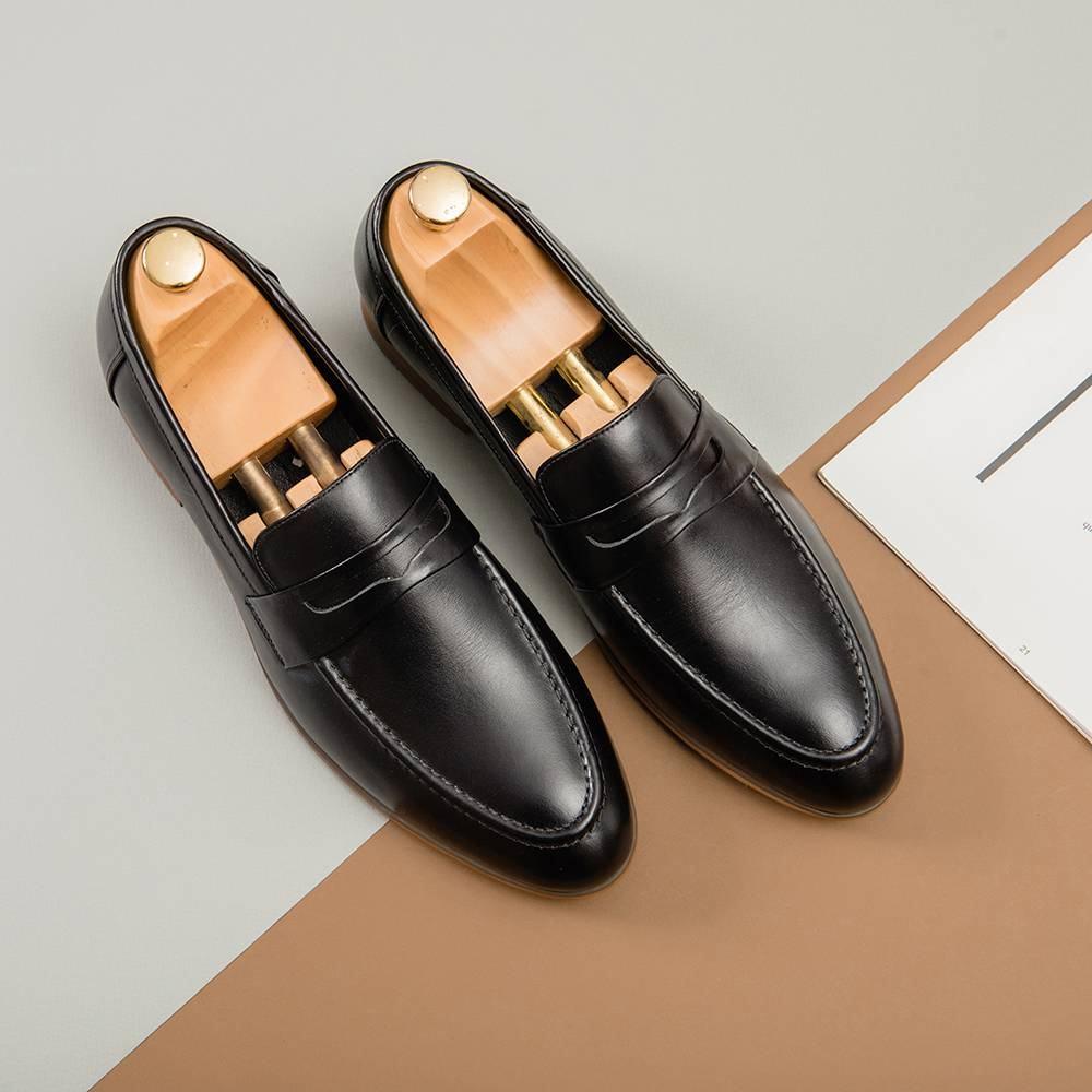 Giày da nam Penny Loafer GNTA8627-D