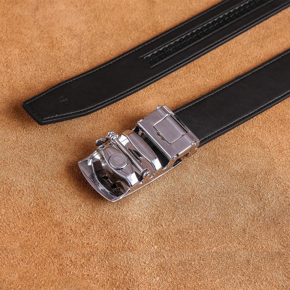 Dây thắt lưng nam mặt khóa cài D590-528-05B
