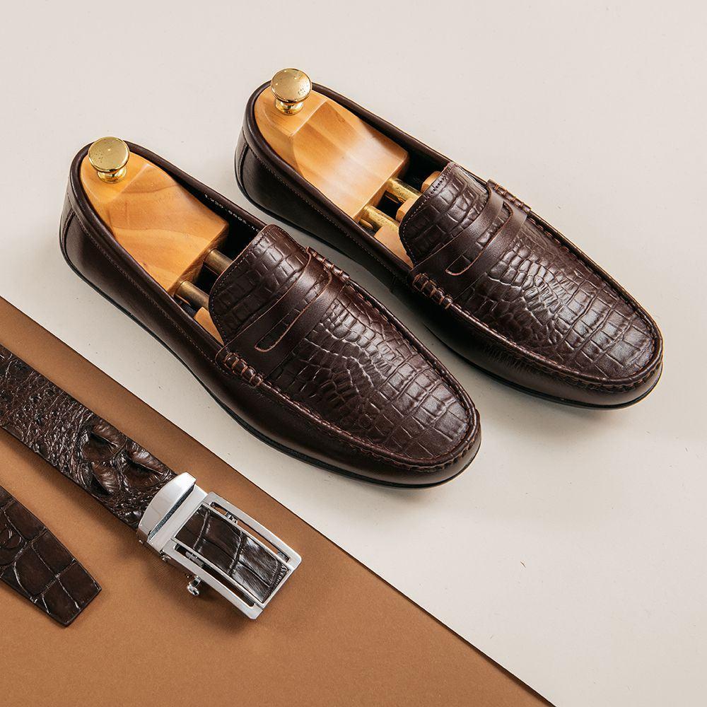 Giày lười nam công sở GNTA8803-N