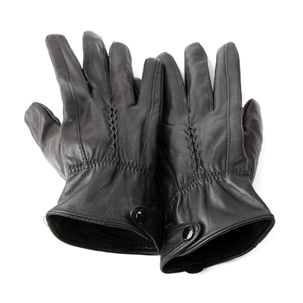 Găng tay da cừu nữ GT300-05L-D