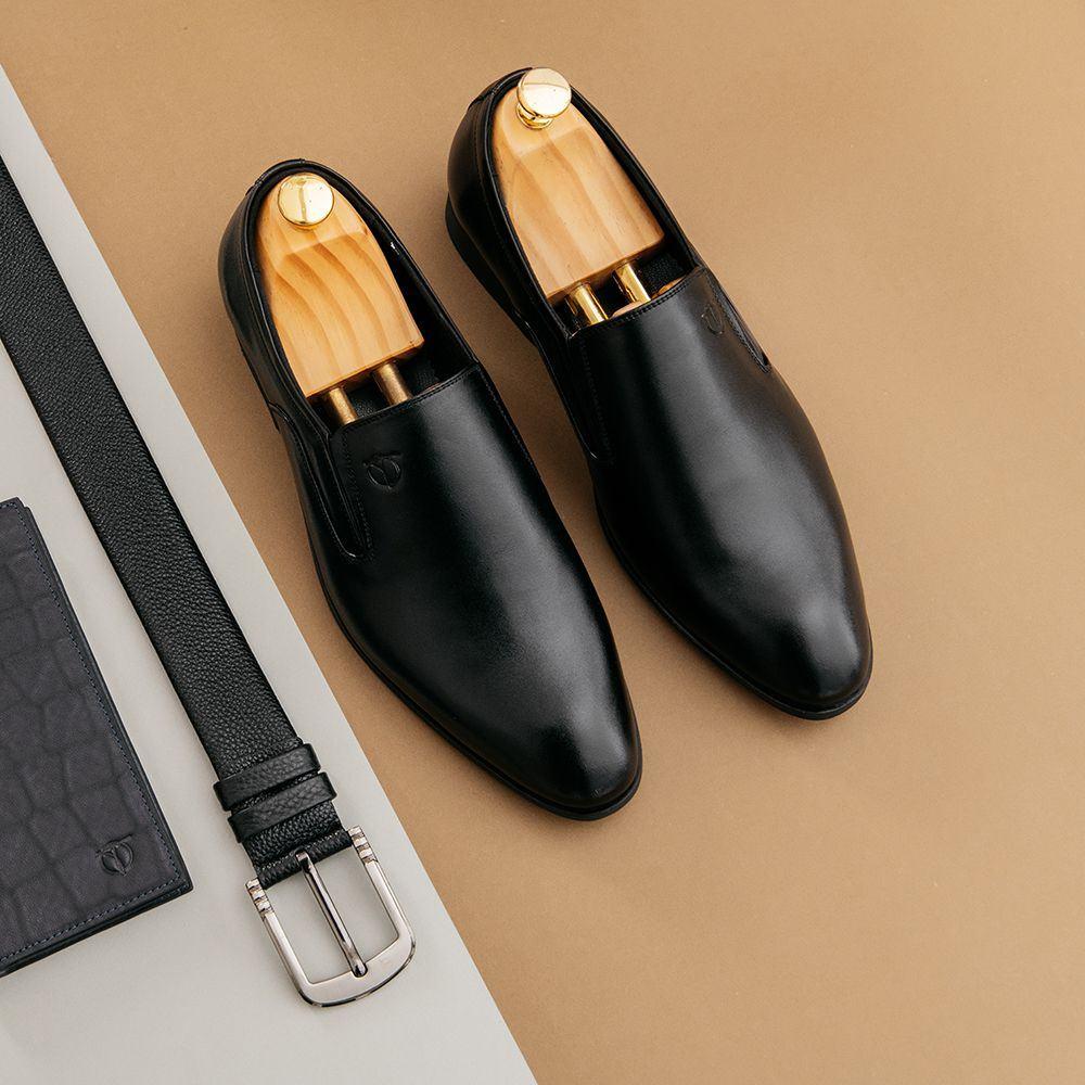 Giày da nam kiểu dáng Apron Toe GNTA5501-D