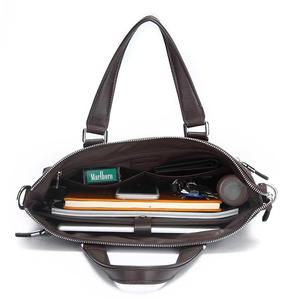 Túi xách công sở da bò nguyên miếng DB210-N