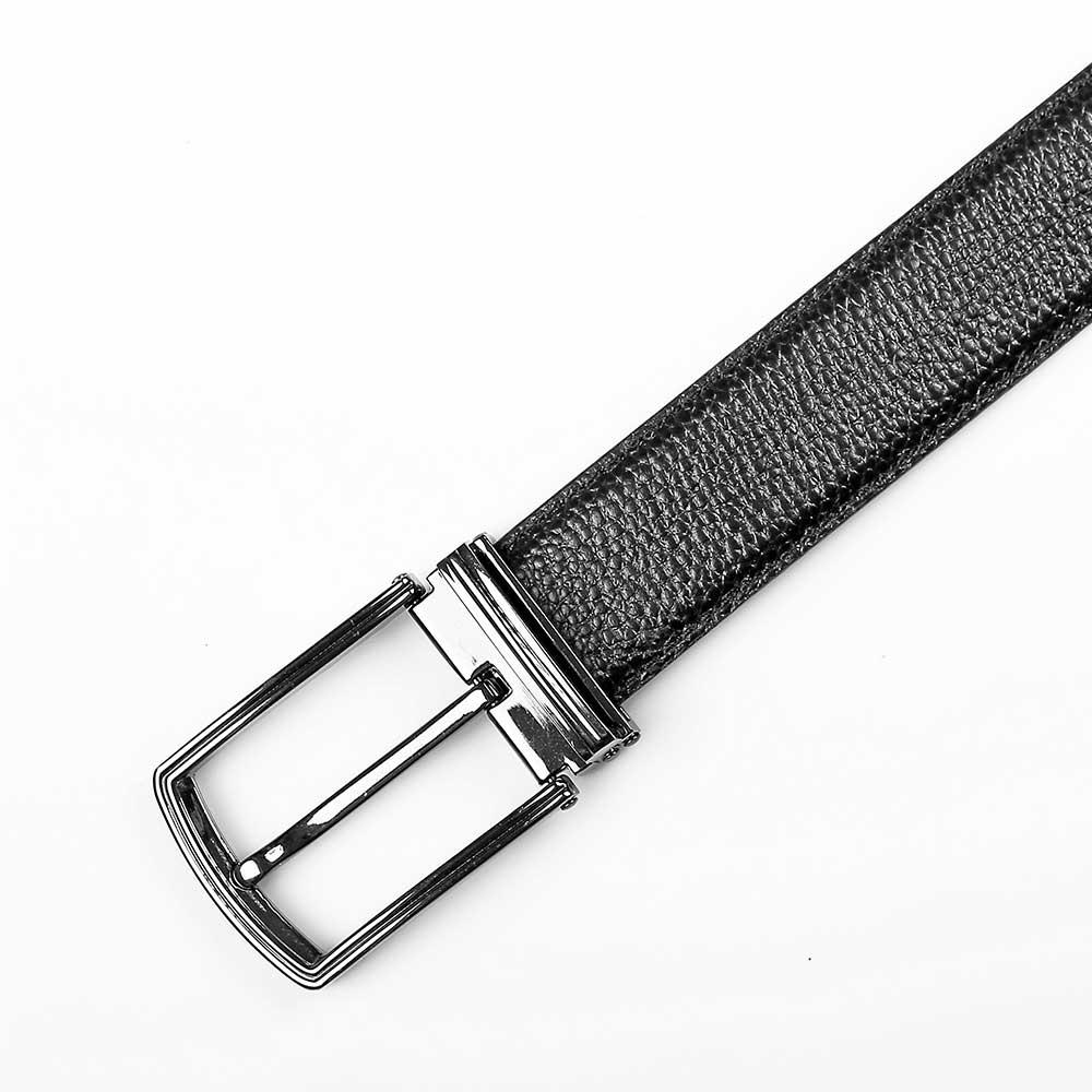 Thắt lưng nam da bò mặt khóa xỏ kim D480-3046D