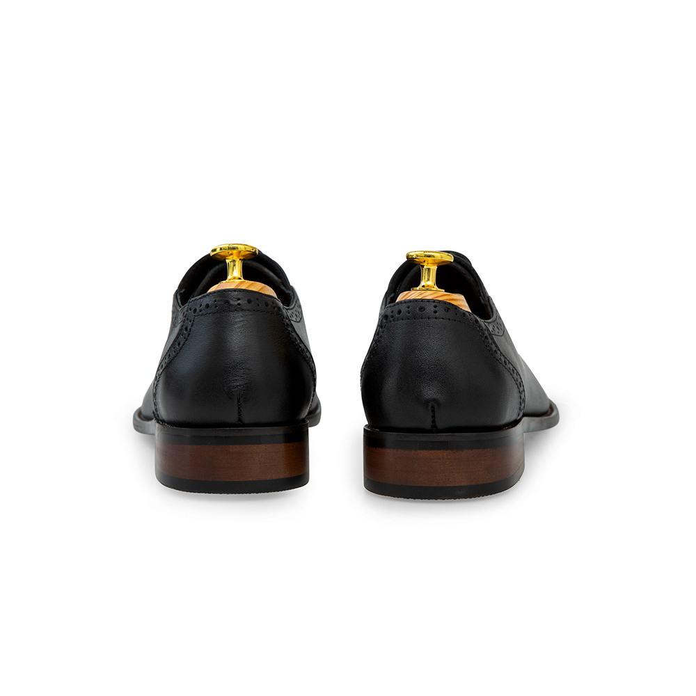 Giày tây nam viền da đục lỗ GNTA8205-D
