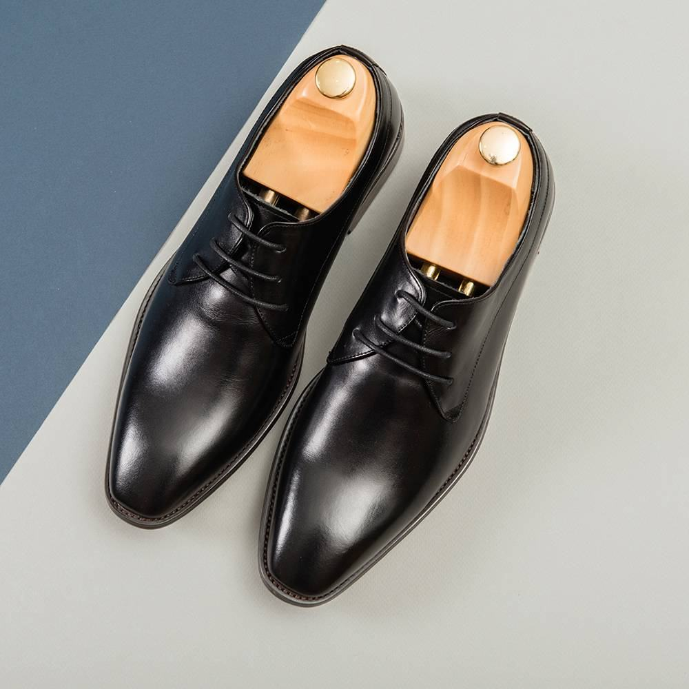 Giày da nam cao cấp dáng Derby GNTA1833-D
