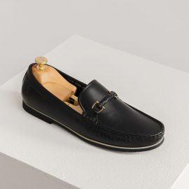 Giày da nam da bò trơn GNTA3255-D