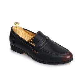 Giày lười nam quai ngang kết dây cách điệu GNTA034-D