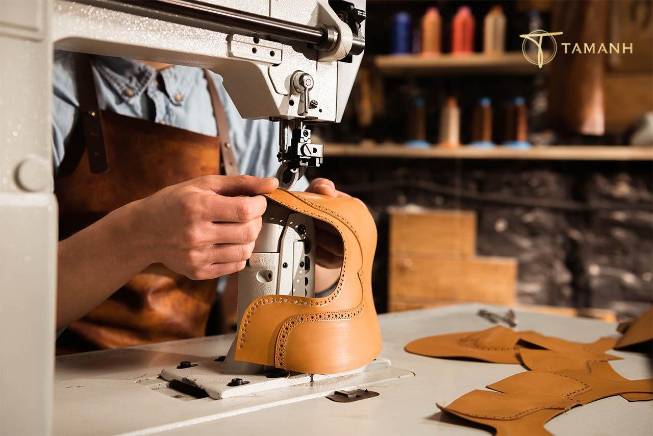 Quy trình sản xuất giày da
