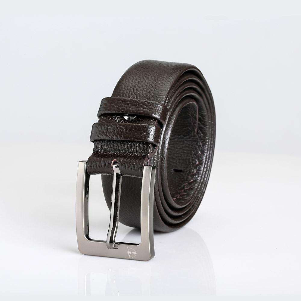 Thắt lưng nam chính hãng nâu coffee sang trọng D310-140923