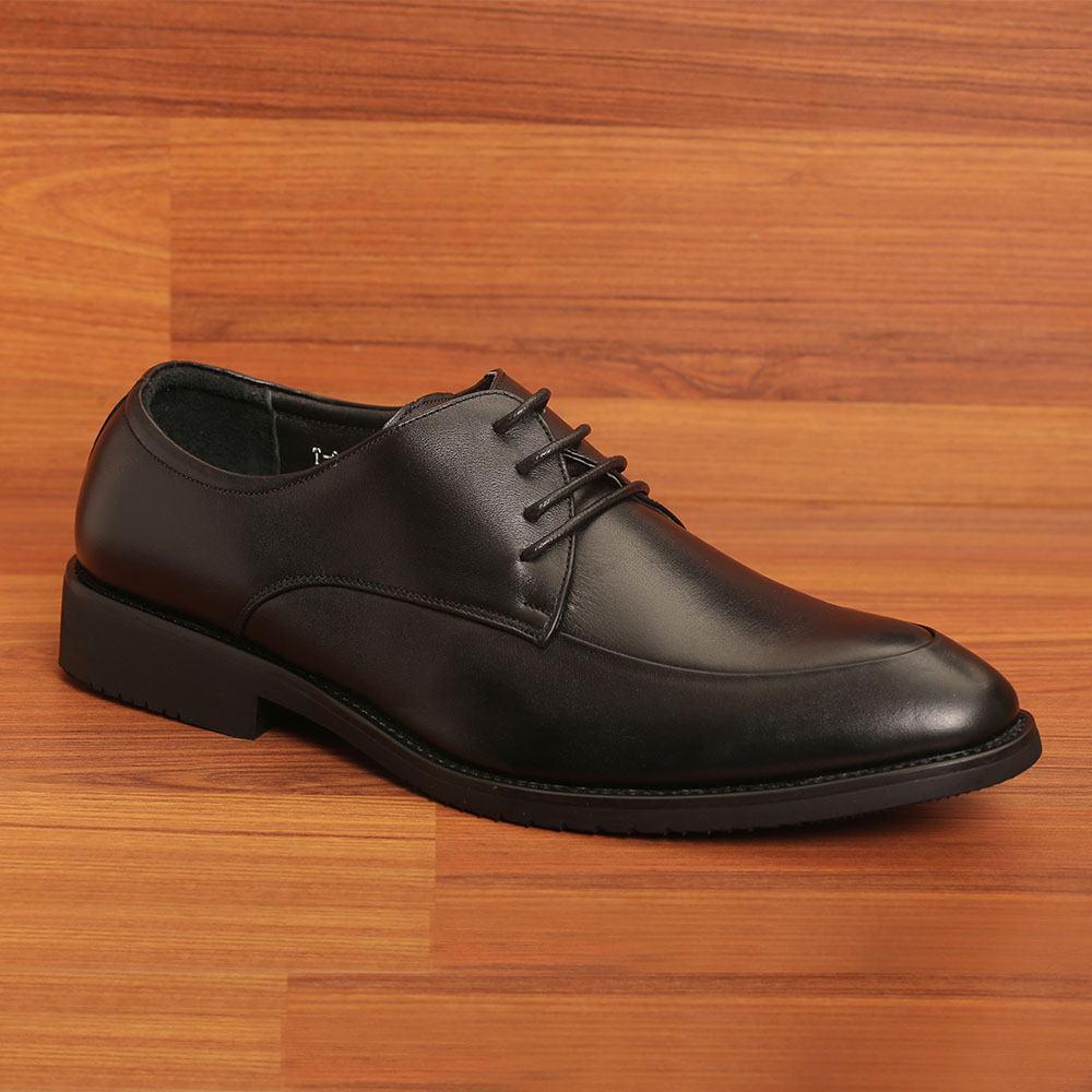 Giày tây nam cột dây kiểu Derby GNTA0126-D đen