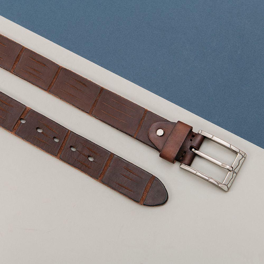 Thắt lưng quần jean mặt khóa xỏ kim DJ625-CF