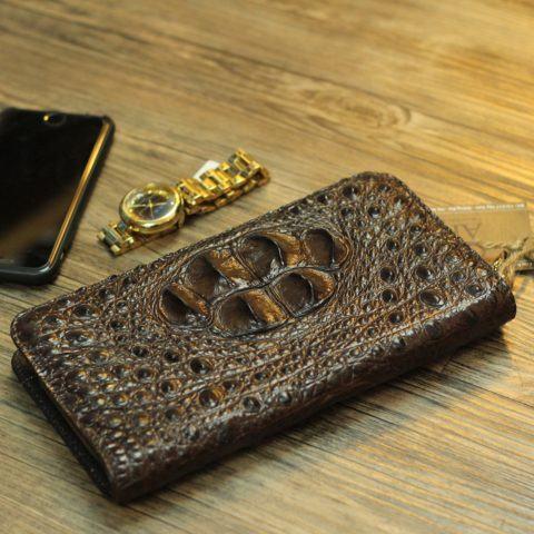 Tuyệt chiêu giúp bạn sở hữu ví da nam đẹpbằng da cá sấu