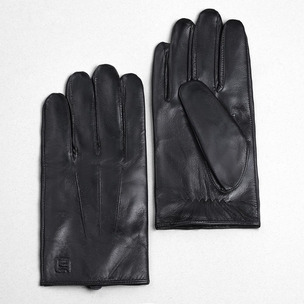 Găng tay da cừu nguyên miếng GTLACUNU-05-D