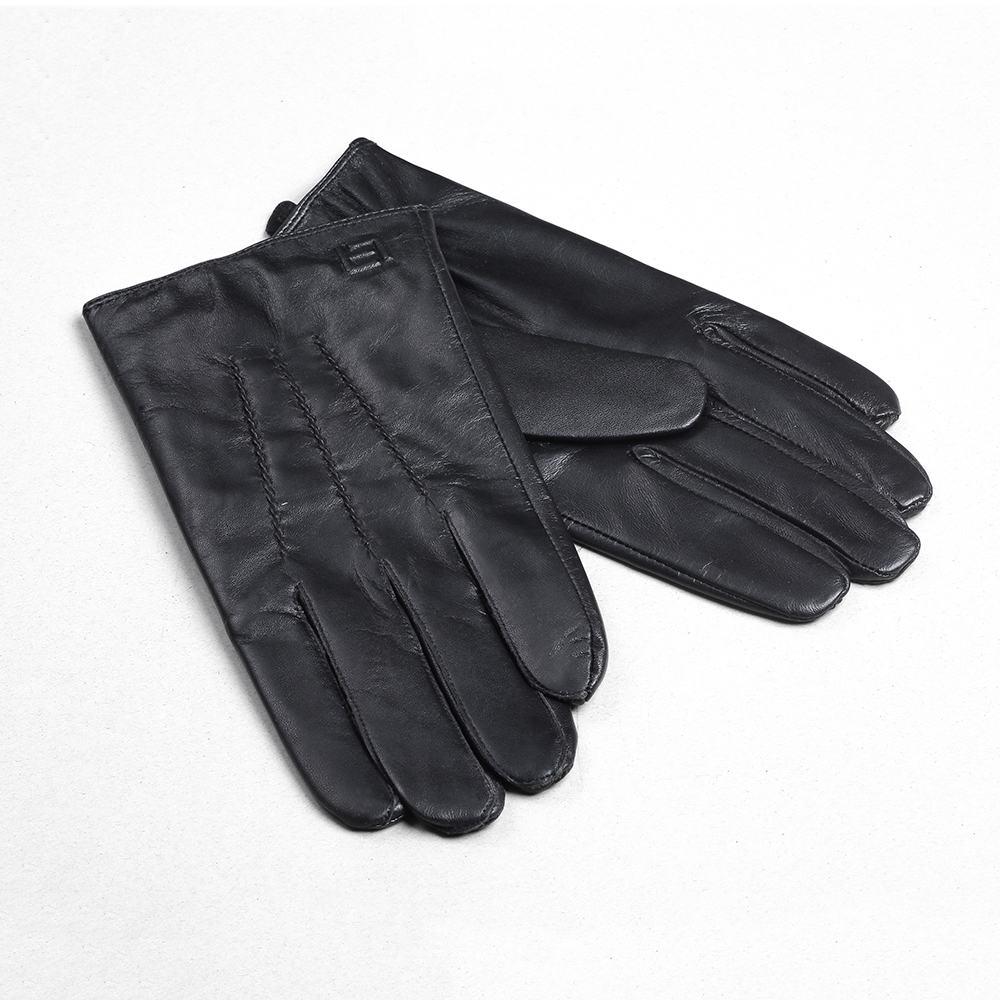 Găng tay cảm ứng da cừu xịn GTLACUNU-06-D