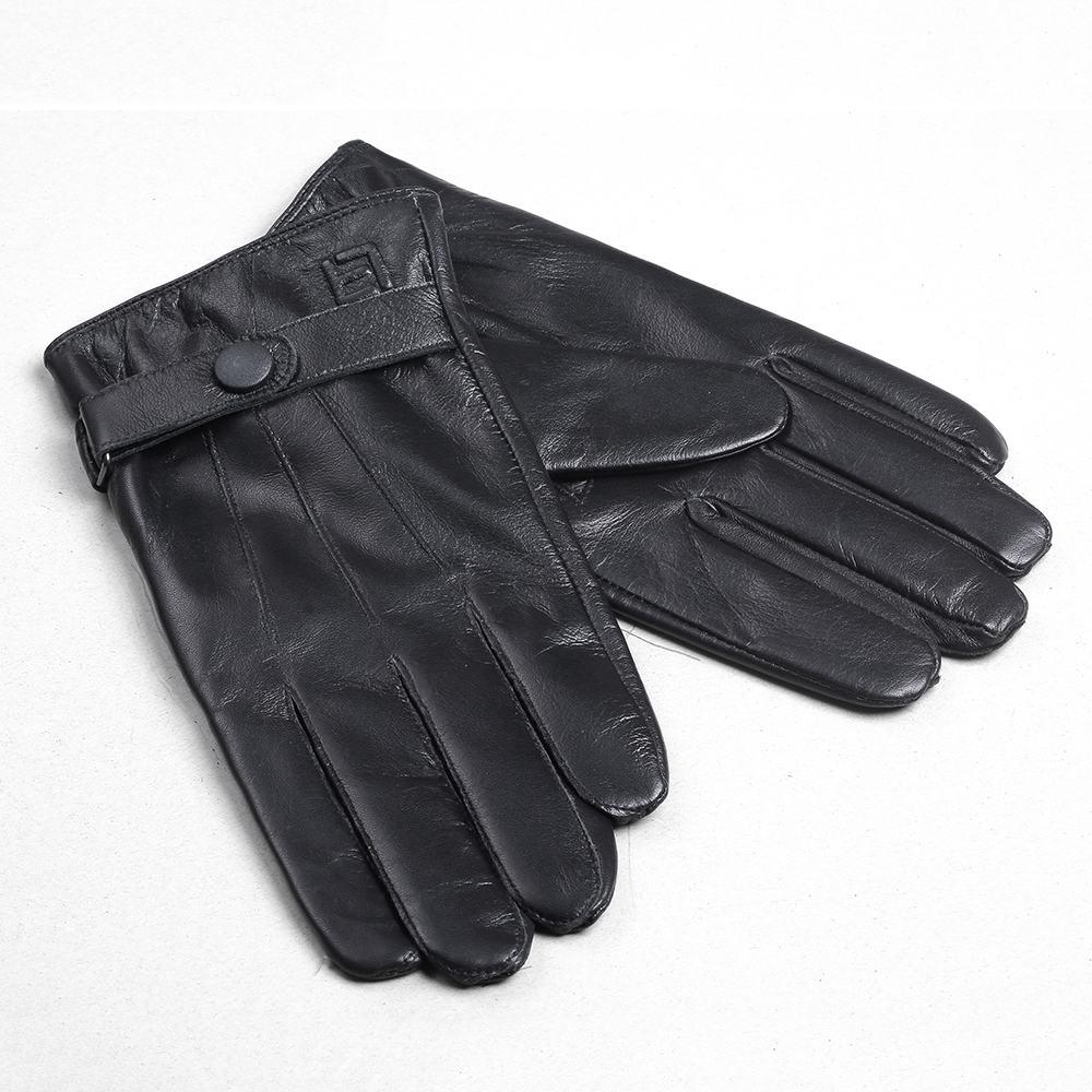 Găng tay nữ da cừu cao cấp GTLACUNU-07-D