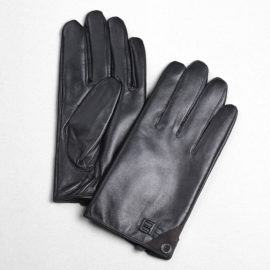 Găng tay cảm ứng nữ da xịn GTLACUNU-08-D