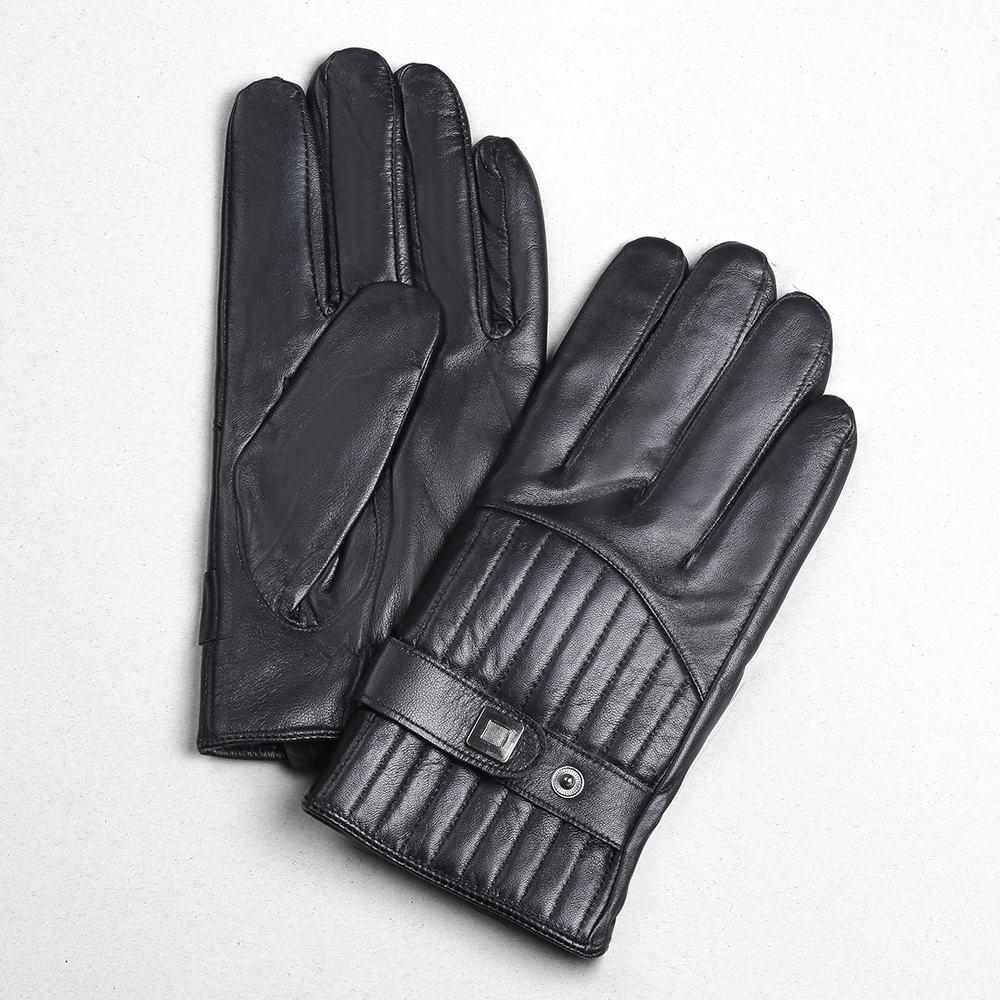 Găng tay da nữ thời trang GTLACUNU-09-D