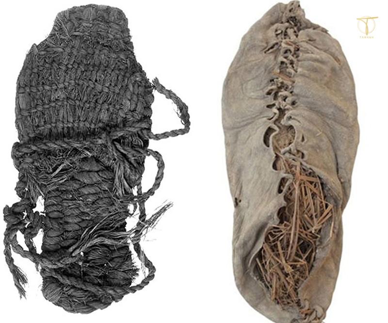 Chiếc giày da đầu tiên trong thế giới đồ da