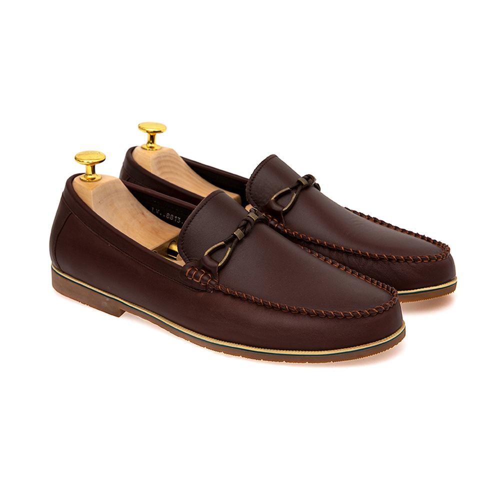 Giày lười nam da bò GNTA8813-N