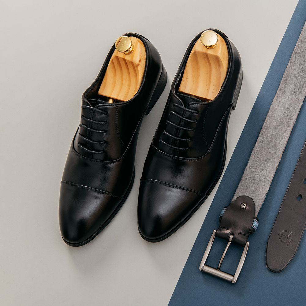Giày tây nam công sở buộc dây GNTA0688-D