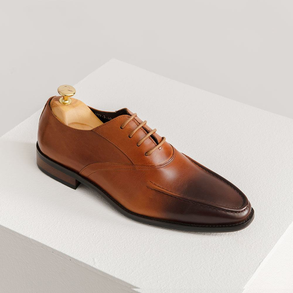 Giày tây nam công sở màu nâu GNTA689-3-N