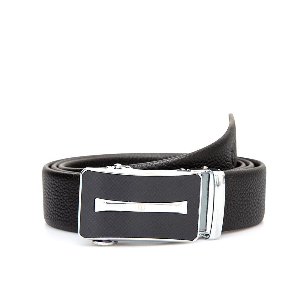 Thắt lưng nam mặt khóa màu bạc D390-FT662-RF