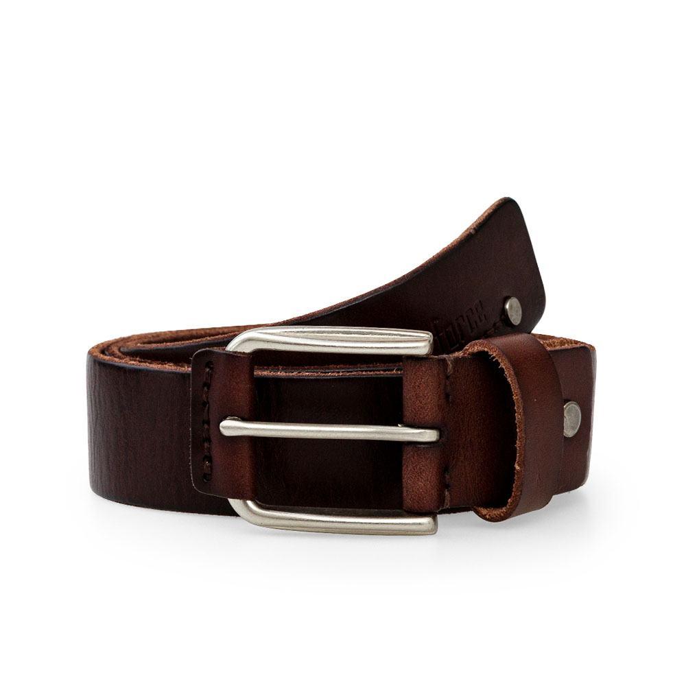 Thắt lưng da bò khóa đính kèm da ấn tượng DJLA002459-CF